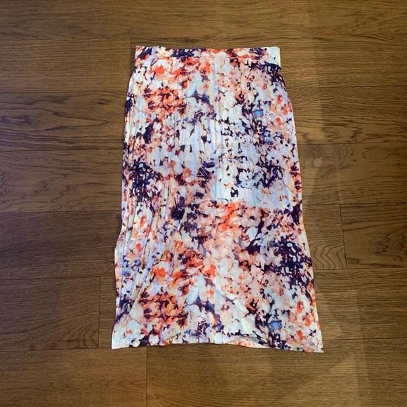 a.n.a Dresses & Skirts - a.n.a Petite Maxi Skirt